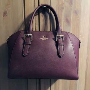 Kate Spade purse (Plum)